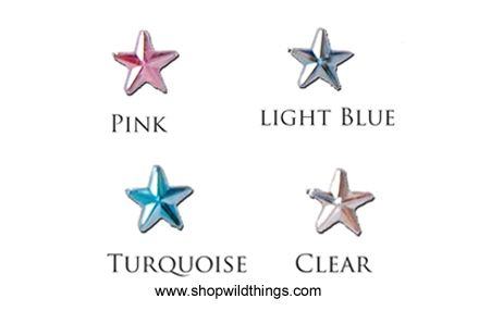 SALE ! Rhinestones - 10mm Stars - 80pcs - 4 Colors Available