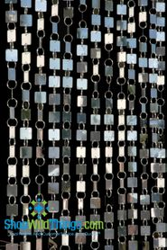 Shimmy Squares Beaded Curtains & Chandeliers