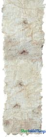 "Birch Bark Ribbon for Projects - 70"" Long  x 4"" Wide"