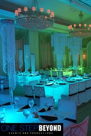 "One Step Beyond Events - ""Chelsea"", ""Mirabella"", ""Tiffany"" & ""Delight"" Chandeliers"