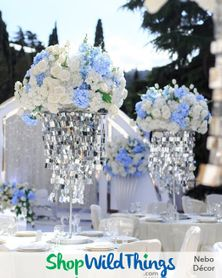Amazing Silver Chandeliers Reflect Light and Value