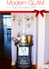 Soiree Event Design - Manzanita Tree l Rustic & Modern Bar Cart