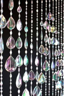 Big Teardrops Beaded Curtains & Chandeliers