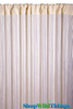 String Curtain Bone 3 ft x 7.5 ft - Rayon