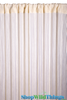 String Curtain Ivory Pearl 3 ft x 7.3 ft - Rayon