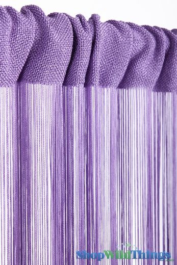 COMING SOON! String Curtain Light Lilac 3 ft x 7.3 ft - Rayon