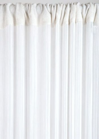 COMING SOON! String Curtain White 3 ft x 7.3 ft - Rayon