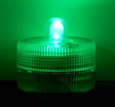 Coming Soon! SALE! Acolyte Submersible Floralyte Green - Set of 10 - LED Lights