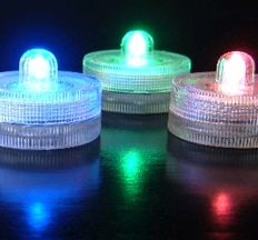 SALE! Acolyte Submersible Floralyte RGB Red Green Blue Color Changing - Set of 10 - LED Lights