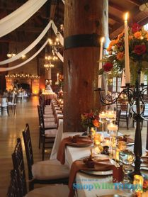 Sumptuous Fall Centerpieces|More Wedding Wow from Tamara Wendt Design