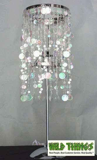 Table Lamps: Bubbles - <BR><B>3 Colors Available</B>