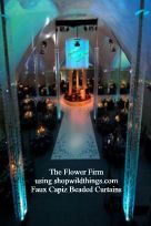The Flower Firm (Faux Capiz Beaded Curtains)
