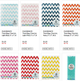 1 LOT AVAILABLE!  CLEARANCE Treat Bag Lot - Chevron, Stripes, Dots - Asst Colors - 7,976 Pcs!