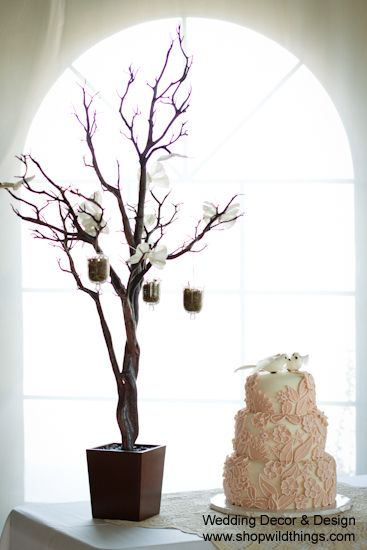 COMING SOON! Tree in Pot, 4 Feet Tall - Natural Brown (Bendable!)