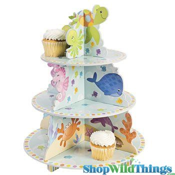 CLEARANCE - Under The Sea Cupcake Holder