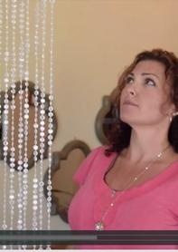 VIDEO: Large Decor Items - 12' Diamonds Curtains