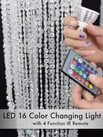 VIDEO: LED Color Changing Light Bulb Demonstration