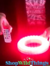 VIDEO: LED Color Changing Light Discs (Open Center Design)