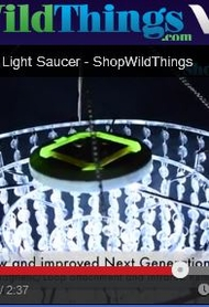 VIDEO: LED Light Saucers with Remote Control