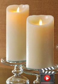VIDEO: Luminara Candles - Most Realistic - Battery Operated