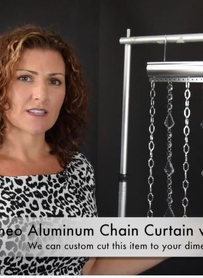 VIDEO: ShopWildThings Custom Metal Curtains with Crystals