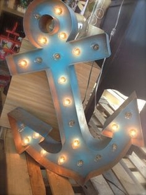 Vintage Marquee Lighted Signs