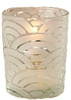 Votive, David Tutera Frosted, Sand Blast Finish