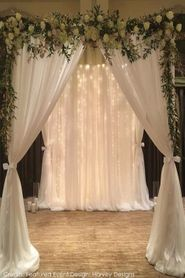 """(FREE SHIPPING!)  Wedding & Event Canopy Structure """"Vanguard"""" - Adjustable"""