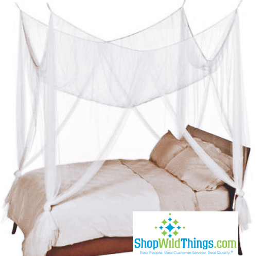Coming Soon!  White Bed Canopy, 4 Point Mosquito Net,  High Quality  King/Queen