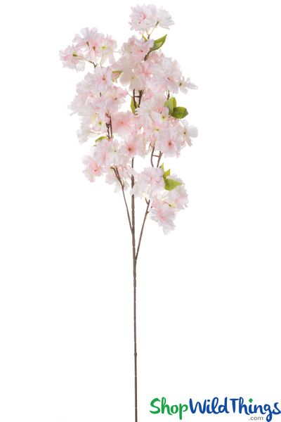 "COMING SOON! Flowering Tree Branch -  42"" Tall - Bendable - White & Pink"
