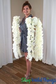"Wisteria Bouquet Cascading Spray - Ivory 44"" - BUY MORE, SAVE MORE!"