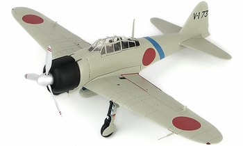 A6M2 Zero Model, IJNAS, Saburo Sakai - Hobby Master HA8805 - click to enlarge