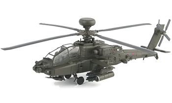 AH-64D Apache Model, British Army Air Corps - Hobby Master HH1203 - click to enlarge