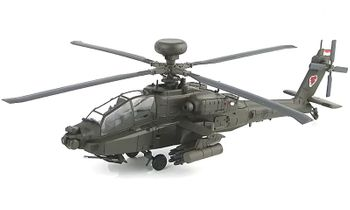 AH-64D Apache Model, RSAF, 120th Squadron - Hobby Master HH1204 - click to enlarge