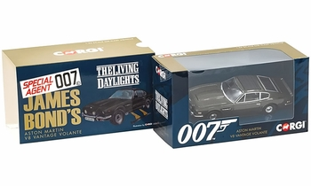 Aston Martin Vantage, James Bond The Living Daylights - Corgi CC04804 - click to enlarge