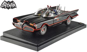 Batman 1966 TV Batmobile with Figures 1:18 Diecast - Hot Wheels - click to enlarge
