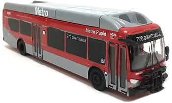 New Flyer Xcelsior Bus Model: Los Angeles - Iconic Replicas 87-0196 - click to enlarge