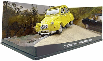 Citroen 2CV Model, James Bond: For Your Eyes Only - Eaglemoss - click to enlarge