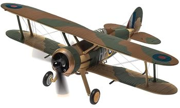 Gloster Gladiator Model, RAF, 247 Squadron - Corgi AA36212 - click to enlarge
