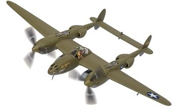 P-38G Lightning Model, USAAF, 399th FS - Corgi AA36615 - click to enlarge