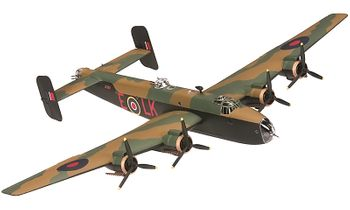 Halifax B.Mk III Model, RAF, 578 Squadron - Corgi AA37202 - click to enlarge