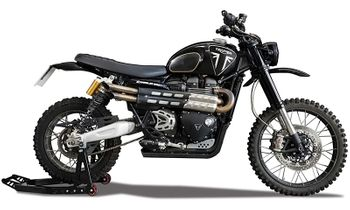 Triumph Scrambler 1200, James Bond: No Time To Die - Corgi CC03701 - click to enlarge