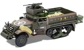 M3 A1 Half-Track Model, U.S. Army, D-Day - Corgi CC60418 - click to enlarge