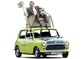 Mr. Bean's Mini Diecast Model with Figure - Corgi CC82114 - click to enlarge