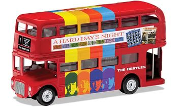 The Beatles, London Bus Model, 'A Hard Day's Night' - Corgi CC82334 - click to enlarge