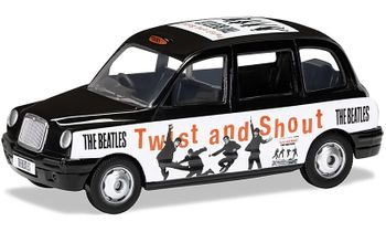 The Beatles, London Taxi Model, 'Twist and Shout' - Corgi CC85927 - click to enlarge