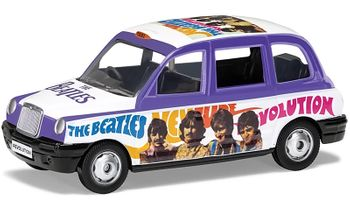 The Beatles, London Taxi Model, 'Hey Jude' - Corgi CC85928 - click to enlarge