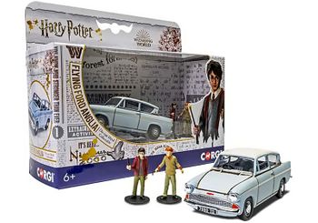 Harry Potter Flying Ford Anglia Model & Figures- Corgi CC99725 - click to enlarge