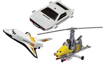 James Bond Gyrocopter, Space Shuttle and Lotus - Corgi TY99283 - click to enlarge