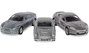 James Bond DB5, V12 Vanquish and DBS Models - Corgi TY99284 - click to enlarge